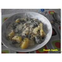 Yoğurtlu Nohutlu Patates Yemeği