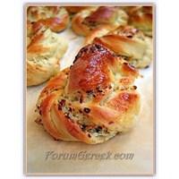 Peynirli Ve Kekikli Çörekler (18 Adet)