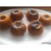 Pekmezli Reçelli Mini Kekler