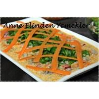 Anne Elinden Yoğurtlu Mantar Salatası