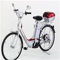"Yeni moda:""Elektrikli bisiklet"""