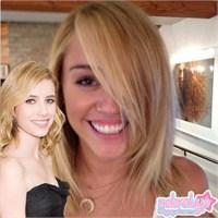 Miley Cyrus, Emma Roberts'ı Kıskanıyor!