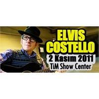 Elvis Costello 2 Kasım'da İstanbul'da