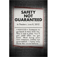 İlk Fragman Ve Afiş: Safety Not Guaranteed