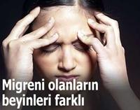 Migreni Olanların Beyinleri Farklı