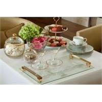 Dekoratif Porselen Çay Ve Pasta Takımları