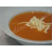 Domates Çorbası (Kaşar Peynir İle)