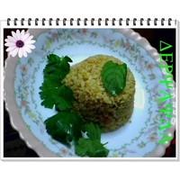 Bulgur-pirinç Pilavi
