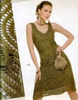 Örgü Yeni Elbise Modelleri