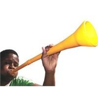 Vuvuzela Kulaklara Küpe Olacak