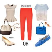 Turuncu Pantolon Nasil Giyilir?