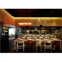 K-studio'dan Atina'da Barque Restoran Aydınlatma