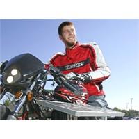 Güneş enerjisiyle giden motosiklet