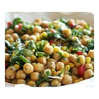 Nohutun Salata Hali