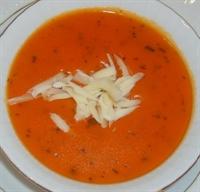 Naneli Domates Çorbası