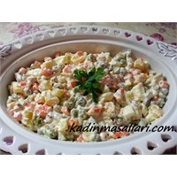Gerçek Rus Salatası Tarifi