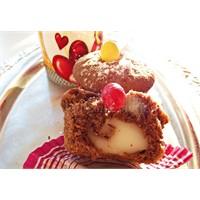 Vanilyali Pudingli Muffin