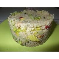 Nohutlu Nar Ekşili Bulgur Salatası