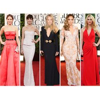 Golden Globe Awards 2013 Dresses