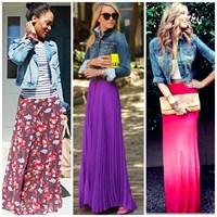 2014 Uzun Etek Modelleri