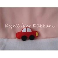 Kırmızı Doğum Günü Arabası