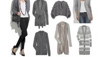 2010 Kışının En Moda Trendi – Gri Hırka