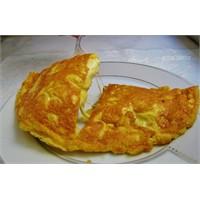 Ommlet - Kaşar Peynirli