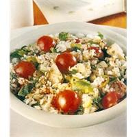 Tavuklu Pirinç Salatası