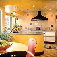 Sarı Mutfak Modelleri Dekorasyonu