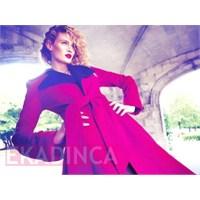 2014 Sonbahar Kış Pembe Bayan Kıyafet Modelleri