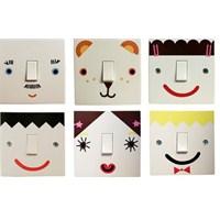 Sticker'lar İle Elektrik Düğmelerini Güzelleştirin