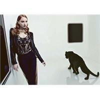 Lily Cole / Vogue Rusya