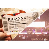 Rihanna Diamonds World Tour @istanbul