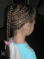 Çocuk Saç Örgü Modelleri-7