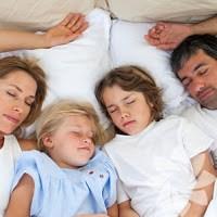 Çocuğun Sizinle Birlikte Uyuması Faydalı