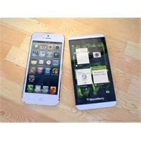 İnceleme: Blackberry Z10 Vs İphone 5