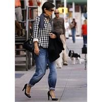 Trend: Boyfriend Jean + Topuklu Ayakkabı