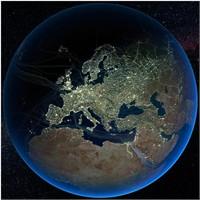 Dünya'nın Gece Çekilmiş Uydu Görüntüleri