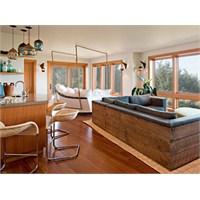 Oregonda Harika Tasarimli Bir Sahil Evi