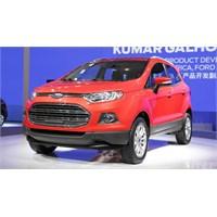 Ford Ecosport Ve Ford Edge Avrupa'ya