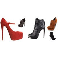 Platform Topuklu Ayakkabılar 2013