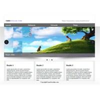 Ücretsiz Html, Css, Jquery, Slider'lı Web Tasarım