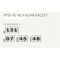 Wordpress Kpss Geri Sayım Sayacı Eklentisi
