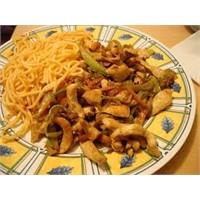 Farklı Tatlardan Çin Usulü Tavuk