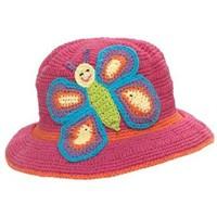 Çocuklara Örgü Kelebekli Şapka Anlatımı
