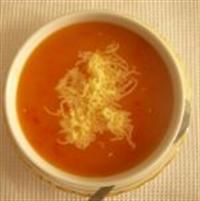Yoğurtlu Domates Çorbası