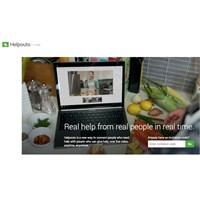 Google Helpouts Servisini Hizmete Açtı