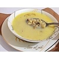 Çocukluğumun Kremalı Mantar Çorbası