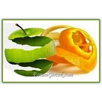 Kabukları Sağlıklı Meyve Ve Sebzeler