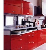 Lineadekor Kırmızı Mutfak Modelleri